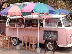 We have umbrella's for our Kombi but they aren't as cute as this!