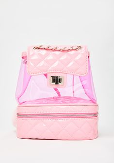 Sugar Thrillz The Heiress Life PVC Backpack cuz they can't keep up with yer lavish lifestyle, princess! Stay royally hawt with this cute lil backpack that has a quilted design, a PVC construction, N' adjustable straps! Cute Heels, Lace Up Heels, Mini Backpack, Black Backpack, Cute Backpacks, Kawaii Fashion, Purses And Bags, Sugar, Sweet Fashion