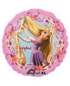 Tangled 18″ Round Foil Mylar Balloon