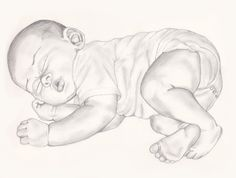 Image result for pencil art of baby mermaids