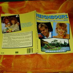 #Neighbours Behind The Scenes Book TV #Memorabilia Australian Soap #Opera Jason D,  View more on the LINK: http://www.zeppy.io/product/gb/3/221025890/
