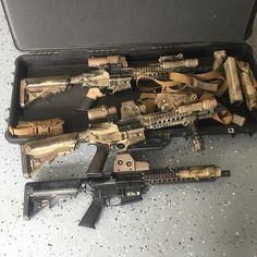 Sweet set of ARs!Loading that magazine is a pain! Get your Magazine speedloader today! http://www.amazon.com/shops/raeind