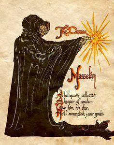 """The Demon Massalin"" - Charmed - Book of Shadows"