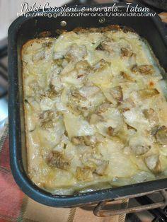 Tortino di patate e carciofi 4