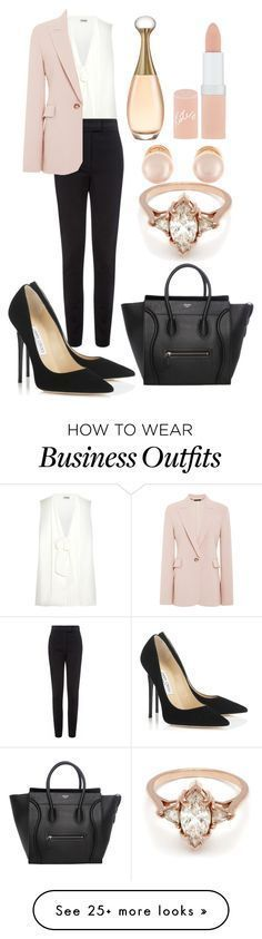 """Work wear"" by manoumi on Polyvore featuring Miu Miu, Vielma London, Wes Gordon, Jimmy Choo, BEA, Kenneth Jay Lane and Rimmel"
