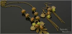 Beaded Fall Collection 2019 Designed August/September 2019 for Rutkovsky Beads . Dedicated to Karolina Emingrová ( Kaja Bijoux ), . Fall Collections, Beading, Hair Accessories, Halloween, Jewerly, Pumpkin, Design, Beads, Jewlery