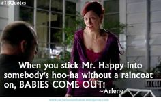 I love True Blood. Arlene is definitely one of my favorite characters! :)