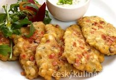 PLACKY Z CIZRNY Vegetable Recipes, Vegetarian Recipes, Cooking Recipes, Healthy Recipes, Czech Recipes, Cooking Light, Vegan Dishes, Whole 30 Recipes, Main Meals