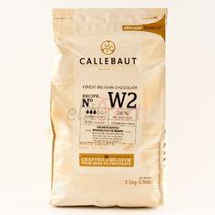Callebaut Damla Beyaz Çikolata 2,5 kg - 85.99 ₺