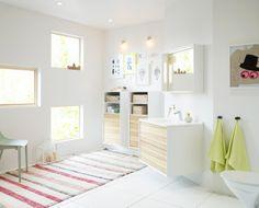 Vedum Art. Design Jesper Ståhl. Bathroom design of of basin and storage. Agency Grand Public. Photo Sam Sylvén.