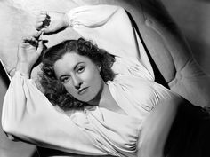 Barbara Stanwyck; publicity still for Irving Rapper's The Gay Sisters (1942)