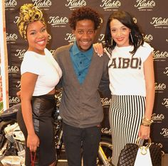 Sandile at the Kiehls launch in KZN