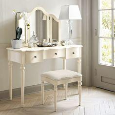 Шикарные реализации туалетного столика с зеркалом: 7 Советов