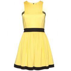 Balmain - Jersey mini dress #minidress #balmain #offduty #women #covetme #loveit