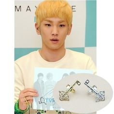Wholesale KPOP Shinee key adjustable Golden and Silver ring Men or Women rings Z0034