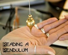 Introduction on how to read the pendulum for #divination.  [pagan.space]