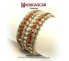 This tutorial explains you how to realize Madagascar bracelet in a very simple and intuitive way. Each step is illustrated with very detailed