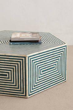 Hexa Inlay Coffee Table