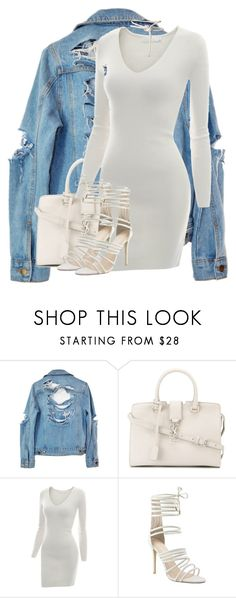 """""""Untitled #1061"""" by daisystylist ❤ liked on Polyvore featuring High Heels Suicide, Yves Saint Laurent, Doublju and Leka"""