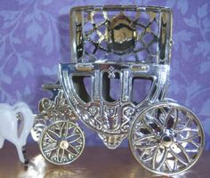 24 Pack Cinderella Carriage with horses Measures about 5 long by 3 tall by 1 wide. Top of the carriage opens (see picture for more detail Cinderella Carriage, Cinderella Wedding, Cinderella Dresses, Wedding Carriage, Pink Dress, Wedding Favors, Silver, Pink Sundress, Wedding Keepsakes