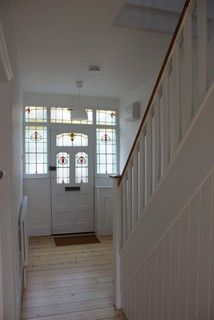 Hall and stairs.