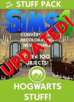 Brittpinkiesims: Hogwarts Stuff • Sims 4 Downloads