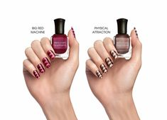 Lippmann Collection - Nails Of Steel Magnetic Wave Design Nail Lacquer Set