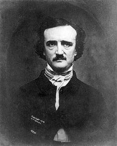 Edgar Allan Poe photo from Antebellum Period. Slideshow containing Edgar Allan Poe full-size image Comic Cat, The Raven, Cogito Ergo Sum, Art Disney, Author Studies, Free Thinker, Foto Art, Disney Marvel, Edgar Allan Poe Life