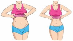 Belly Fat Workout – 12 Exercises That Will Get Rid of Your Mommy Tummy - Diary of a Fit Mommy Pool Workout, Mommy Workout, Workout Fitness, Flat Tummy, Flat Stomach, Flat Belly, Lower Belly, Lower Stomach, Points Weight Watchers