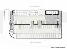 parkhaus einfahrt grundriss - Google-Suche Carport Garage, Rue, Floor Plans, Diagram, Google, Driveway Entrance, Floor Layout, Architecture, Floor Plan Drawing