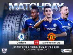 Yokohama Chelsea FC partnership. IT'S MATCHDAY! Chelsea vs Manchester United