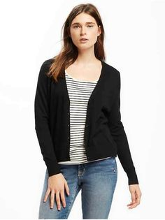 af4cc253b19  9.97 - Button-Front V-Neck Cardi for Women - - labeltail.com