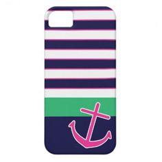 Summer anchor iPhone case