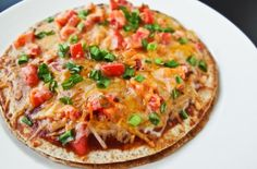 Foodista | Copycat Recipe: Healthy Taco Bell Mexican Pizza