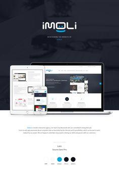Imoli.pl – Interactive Agency – Website Redesign on Behance