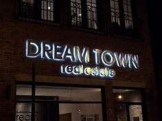 sign, backlit letters | ... signs in Chicago, and LED channel letters and backlit halo letters