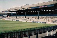 Burnden Park, Bolton Wanderers in the 1970s.