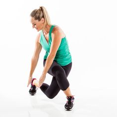 Trim and tone your two trouble zones: thighs and butt. No equipment is necessary to complete this fat-burning blasting workout.
