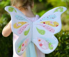 "Wife-made Butterfly Wings in ""Sweet Orchard"" fabrics by Down Grapevine Lane"