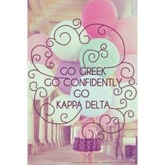 Go Kappa Delta