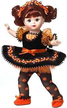Madame Alexander Dolls. Candy corn cutie 2014