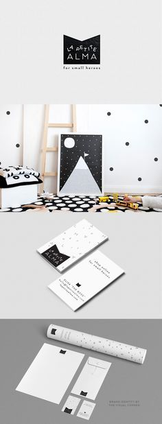 Brand design for La Petite Alma by The Visual Corner studio from Barcelona