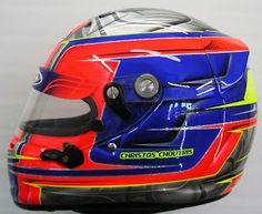 Kart airbrushed Helmet Deisgn #177 ~ Hand Painted Helmets - Design your helmet today..!!
