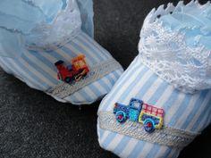 Für Babys - Babyschühchen - ein Designerstück von kleinerSonnenstrahl bei DaWanda
