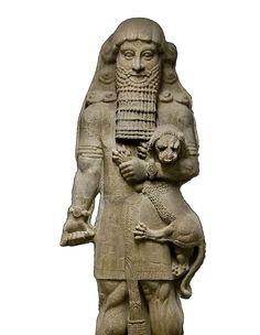 Gilgamesh And Enkidu, Simile, Statue, Sculptures, Sculpture