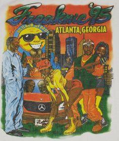 Vintage 1995 Atlanta Freaknik Hip-Hop T-shirt. (LOL!)