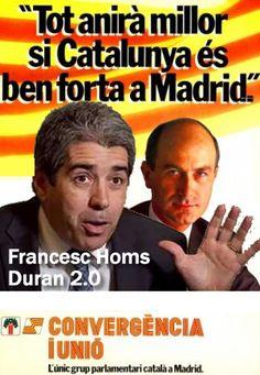 """Homs con su propuesta de """"comisión de cosas catalufas"""" en el Congreso, se ha vuelto en new Duran"""