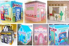 Card table playhouses, patterns