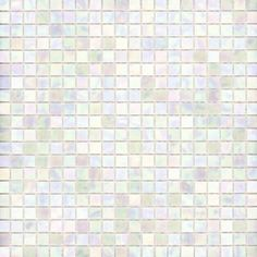 Ro's Bathroom?Elida Ceramica�13-in x 13-in White Oyster Glass Mosaic Square Wall Tile (Actuals 13-in x 13-in)