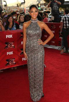Nicole Scherzinger Evening Dress - Nicole Scherzinger Looks - StyleBistro